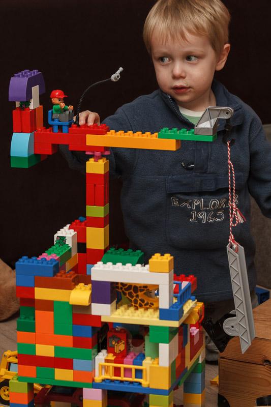 Hijskraan bouwen
